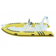 FUNSOR MARINE RIB boats FQB-R480C yellow color for rescue and fishing 4.8 meter length
