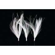 R.T. Rig4 Mackerel Feathers White/Flashabou 3 #2 Silver Hook